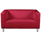 more details on ColourMatch Moda Compact Fabric Sofa - Poppy Red.