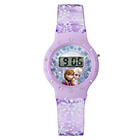 more details on Disney Frozen Purple Plastic Watch and Purse Set.