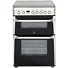 more details on Indesit ID60C2X Double Electric Cooker - Stainless Steel.