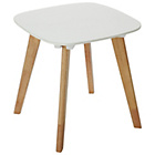 more details on HOME Dahlia End Table - White & Oak Effect.