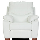 more details on Collection Sorrento Leather Manual Recliner Chair - Cream.