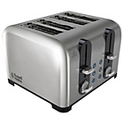 more details on Russell Hobbs 22404 4 Slice Stainless Steel Toaster.