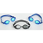more details on Zoggs Pack of 3 Goggles - Blue