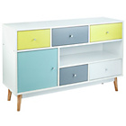 more details on Hygena Lumina 1 Door 5 Drawer Sideboard.