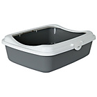more details on Large Cat Litter Tray Grey.
