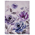 more details on Purple Watercolour Bloom Canvas.