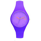 more details on Ice-Chamallow Ladies' Purple Silicone Strap Watch.