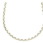 more details on 9ct Gold 20cm Oval Belcher Chain.