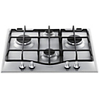 more details on Hotpoint GC641IX Gas Hob - Stainless Steel.