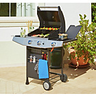 more details on Premium 2 Burner Gas BBQ with Side Burner.