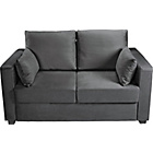 more details on New Apartment Fabric Sofa Bed - Charcoal.