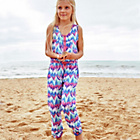 more details on Cherokee Girls Aztec Print Jumpsuit - 5-6 Years.