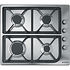 more details on Hoover HGL64SCX Gas Hob- Stainless Steel