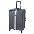 more details on IT Luggage Hard Shell Expandable Suitcase - Black and White