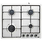 more details on Bush BPGH60X Cast Iron Gas Hob - Stainless Steel.