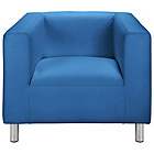 more details on ColourMatch Moda Fabric Chair - Marina Blue.
