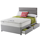 more details on Silentnight Marham Pocket Memory Kingsize 4 Drw Divan.