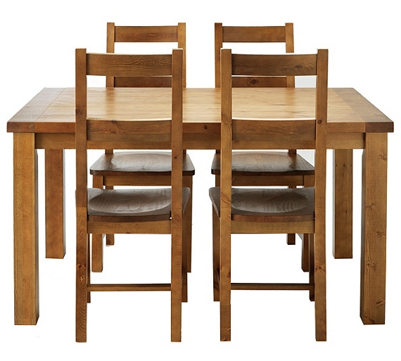 Buy Collection Arizona Dining Table And 4 Chairs