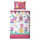 more details on Peppa Pig Funfair Children's Bed in a Bag Set - Single.