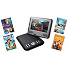 more details on Lava 7 inch Portable DVD Player - Fox Bundle.