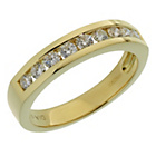 more details on 18ct Gold 0.50ct tw Diamond Eternity Ring.