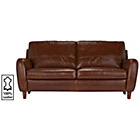 more details on Heart of House Harrow Large Leather Sofa - Tan.
