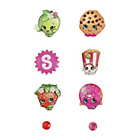 more details on Shopkins Mix and Match Earrings - Set of 9.
