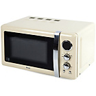 more details on Swan SM22030 800w 20 Litre Microwave - Cream.