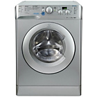 more details on Indesit Innex XWD 71452 S Washing Machine - Silver