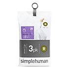 more details on simplehuman Bin Liner Code R 3 x 20 Pack 60 Liners.