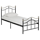 more details on Brynley Single Bed Frame - Black.