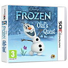 more details on Disney Frozen: Olaf's Quest 3D Nintendo 3DS Game.