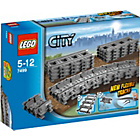 more details on LEGO® City Flexible Tracks - 7499.