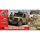 more details on Airfix British Forces Land Rover Patrol Model Kit.