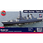 more details on Airfix Royal Navy HMS Daring Type 45 Destroyer Model Kit.