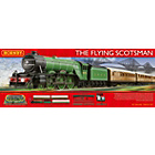 more details on Hornby Flying Scotsman and 3 Coaches 00 Gauge Set.