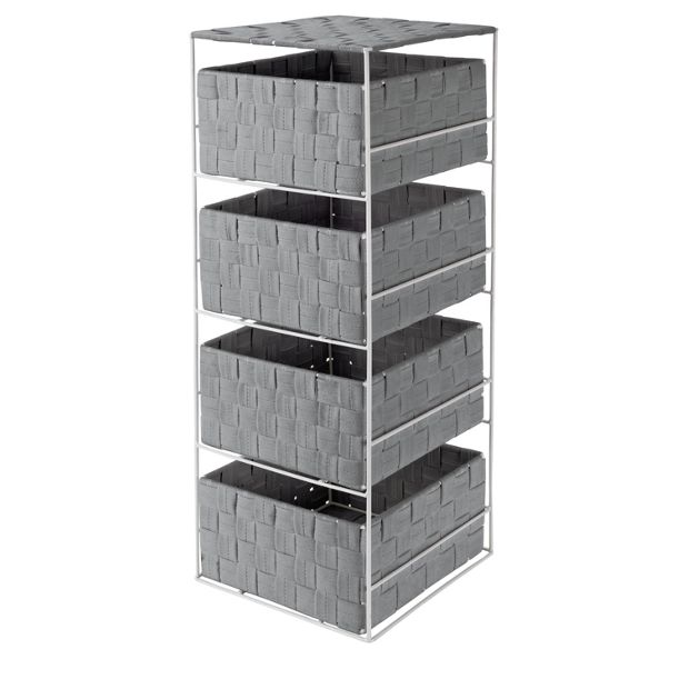 buy colourmatch 4 drawer storage unit dove grey at argos. Black Bedroom Furniture Sets. Home Design Ideas