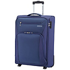 more details on American Tourister Hyperstream 4 Wheel Soft Suitcase - Navy.