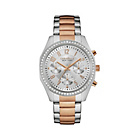 more details on Caravelle New York Ladies' Rose Gold Two Tone Bracelet Watch