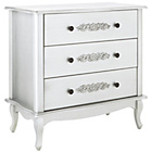 more details on Sophia 3 Drawer Chest - White.