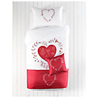 more details on Hearts Bed in a Bag Bedding Set - Single.
