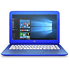 more details on HP Stream Celeron 13 inch 2GB 32GB SSD Laptop - Blue.