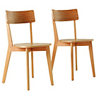 more details on Hygena Pair of Retro Dining Chairs.