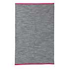 more details on ColourMatch Weave Rug -150x100cm- Flint Grey/ Bubblegum Pink