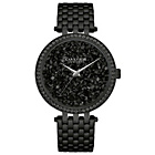 more details on Caravelle New York Ladies' Crystal Black Dial Bracelet Watch
