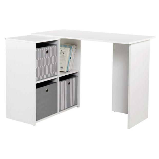 Buy Home Calgary Corner Desk White At Your Online Shop For Desks And: argos home office furniture uk