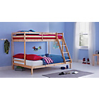more details on Wooden Pine Triple Bunk Bed with Ashley Mattress.