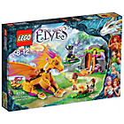 more details on LEGO Elves Fire Dragon's Lava Cave Playset - 41175.