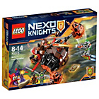 more details on LEGO Nexo Moltor Lava Smasher – 70313.