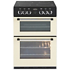 more details on Belling Classic 60E Double Electric Cooker - Cream.